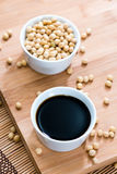 Soy Sauce (in a bowl) Royalty Free Stock Photography