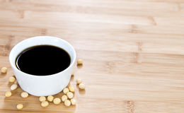 Soy Sauce (in a bowl) Royalty Free Stock Photos