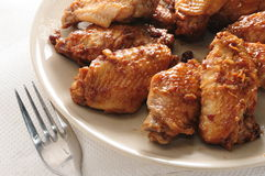 Soy sauce chicken wing Royalty Free Stock Photography