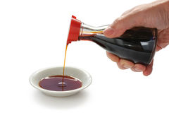 Soy sauce , japanese condiment Stock Photo