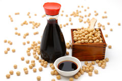 Soy sauce royalty free stock photos