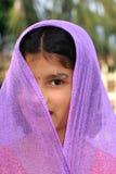 Soy una muchacha traviesa Imagen de archivo