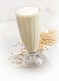 Soya bean juice Stock Image