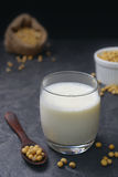 Soya bean milk Stock Photos