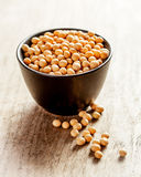 Soya beans in a bowl Royalty Free Stock Photography