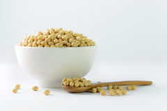 Soya beans Stock Photo