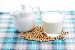 Soya milk Royalty Free Stock Photos