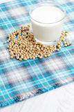 Soya milk Royalty Free Stock Photo