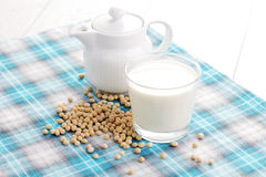 Soya milk Royalty Free Stock Images
