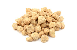 Soya protein chunks Royalty Free Stock Photos