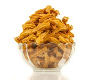 Soya snack. Indian traditional spicy Soya snack food stock photos
