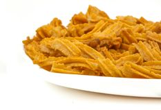 Soya snack. Indian traditional spicy Soya snack food royalty free stock images