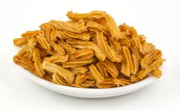 Soya snack. Indian traditional spicy Soya snack food royalty free stock photo