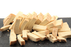 Soya tofu cheese. As nice food background Stock Images