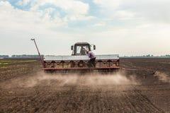 Soybean harvest Stock Photo