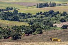 Free Soybean Harvesting Royalty Free Stock Image - 121522686
