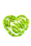 Soybean heart Stock Photos