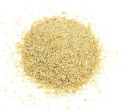 Soybean Meal Pile from Above Stock Image