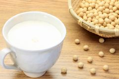 Soybean milk Royalty Free Stock Photography