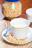 Soybean milk Royalty Free Stock Photo