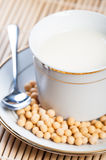 Soybean milk Royalty Free Stock Images