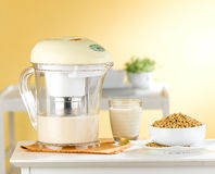 Soybean milk maker machine in the kitchen Stock Images