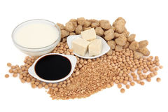 Soybean Products Stock Image