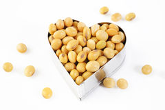 Soybean seed Royalty Free Stock Photography