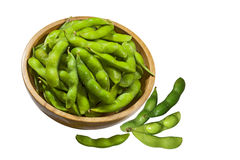 Soybeans edamame Stock Images