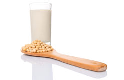 Soybean And Soybean Milk I Stock Photos