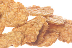 Soybean Tempeh Cracker Isolated Stock Images