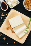 Soybeans and Tofu Stock Images