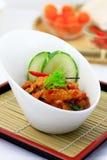 SoybeanTempeh curry Royaltyfri Bild