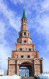 The Soyembika tower in the Kazan Kremlin, Tatarstan, Russia Stock Images