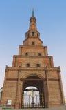 The Soyembika tower in the Kazan Kremlin, Russia Stock Photography