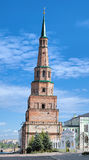 The Soyembika Tower of the Kazan Kremlin Stock Photos
