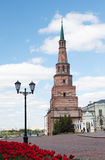 Soyembika Tower in Kazan Kremlin Royalty Free Stock Images