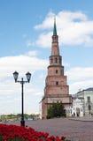 Soyembika Tower in Kazan Kremlin Royalty Free Stock Images