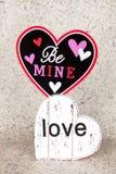 Soyez amour de mine Image libre de droits