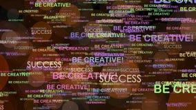 Soyez créateur illustration libre de droits