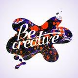 Soyez créateur illustration stock