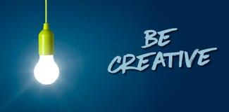 Soyez créateur photos stock