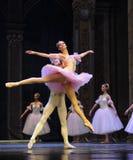 Soyez dans l'amour avec chaque autre-Le casse-noix de ballet Photos stock
