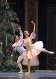 Soyez dans l'amour avec chaque autre-Le casse-noix de ballet Image stock