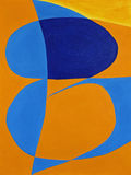 Soyez dans l'art abstrait de fond Image libre de droits