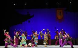 """Soyez diamétralement le  de teenager†de Pékin Opera""""Yue des opposer-enfants Image libre de droits"""