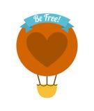 Soyez gratuit Photo stock