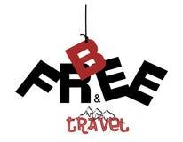 Soyez gratuit et voyage Photos libres de droits