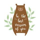 Soyez la meilleure version de vous Image stock