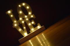 Soyez mon Valenine, amour de scintillement, amour pour toujours, rayon de lumière, Photographie stock libre de droits
